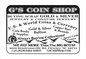 g's coin ad