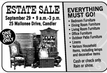 teresa mallonee estate sale ad jpg